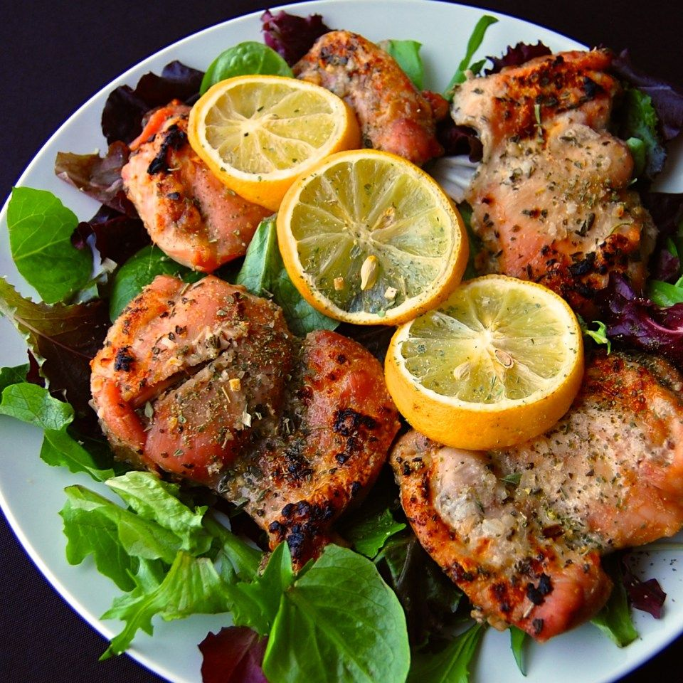 Baked Lemon Chicken, Real Food