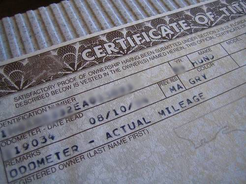 Getting A Loan For Salvage Title Car