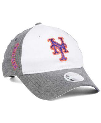 info for 42f90 93016 New Era Women s New York Mets Sparkle Shade Strapback Cap - White Adjustable