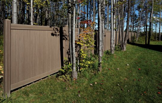 Fence And Deck Ideas Photo Gallery Certainteed Design Center Vinyl Fence Weathered Fence