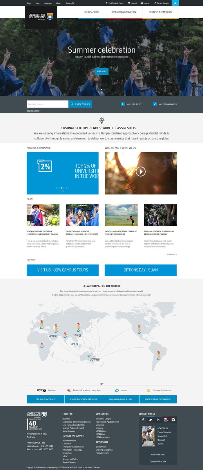 30 University And College Websites Inspiration Designyep Web Design Websites Online Web Design Web Design Services
