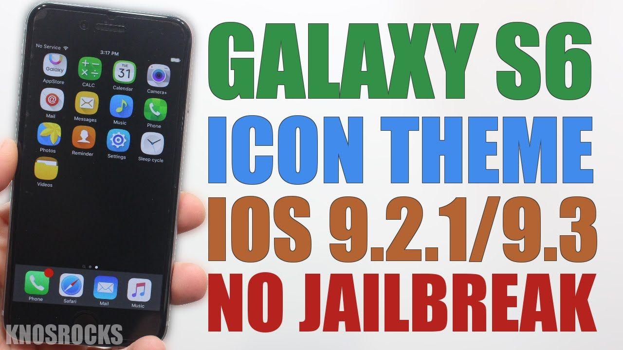 How to install galaxy s6 icon theme ios 92193 no