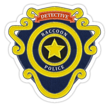 Raccoon City Police Department Badge Resident Evil 2 Embroidered Patch Style Badge Sticker By Surik In 2020 Embroidered Patches Patches Fashion Resident Evil