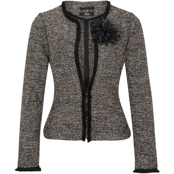 Featuring Liked Bouclé 790❤ Polyvore Damen Blazer1 On W9YDHE2I