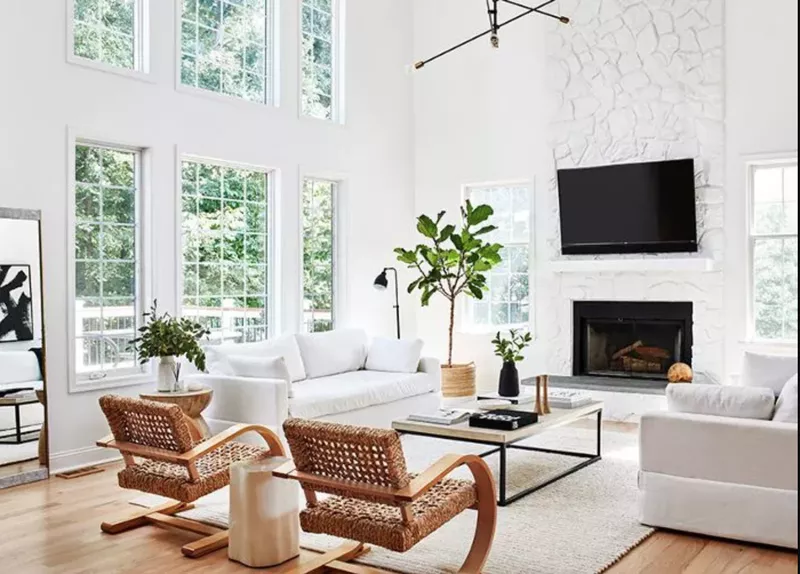19 Undeniably Cool Living Rooms That We Want To Copy Asap White