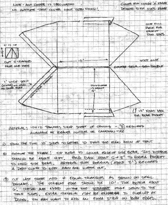 Viking tent pattern I made it up when I made my 3 but good to have a pattern for the next one. | Structures | Pinterest | Vikings Tents and Patterns  sc 1 st  Pinterest & Viking tent pattern I made it up when I made my 3 but good to have ...