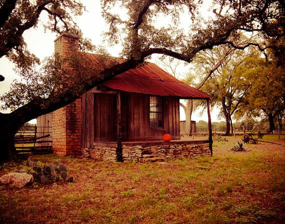 Old Cabin Landscape Fall Art by Squint Photography, $50.00. https://www