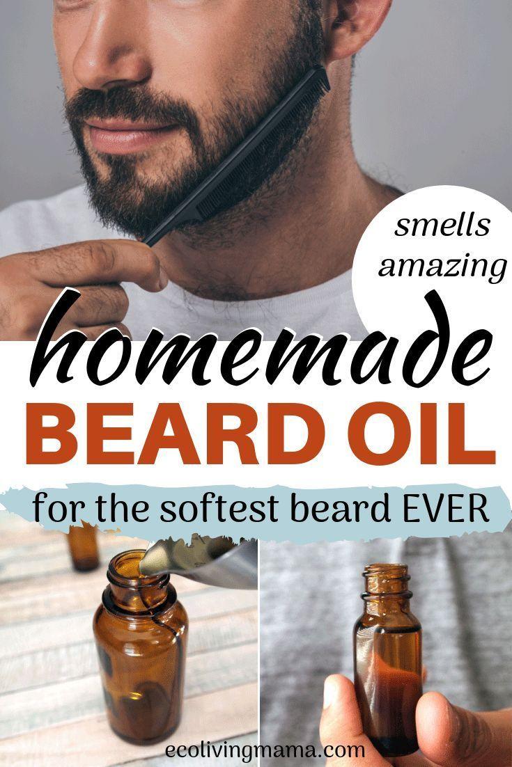 Woodsy Beard Oil Recipe with Essential Oils #jojobaoil
