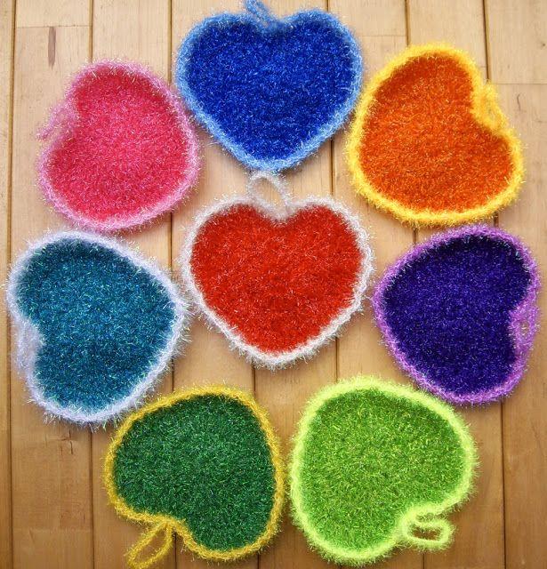 Scrubber & Scrubber Yarn | Washcloths & Dish Scrubbies | Pinterest ...