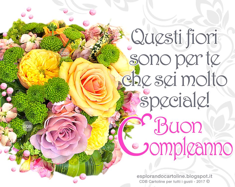 Connu Immagini Fiori Per Compleanno. Gallery Of Rose E Violaciocca Un  VN13