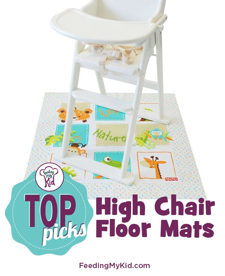 Top Picks High Chair Floor Mats Introducing Solids To A Baby