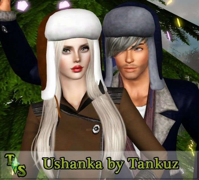 Ushanka Hat By Tankuz Sims 3 Downloads Cc Caboodle Custom