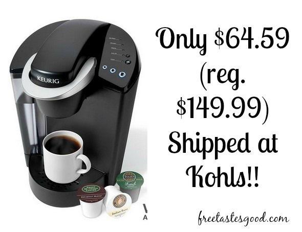 Kohls Keurig K45 B40 Elite Coffee Brewer Only 64 59 Reg 149 99