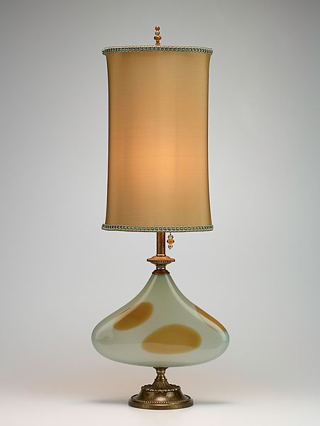 """""""Frankie"""" Mixed-Media Table Lamp Created by Caryn Kinzig and Susan Kinzig"""