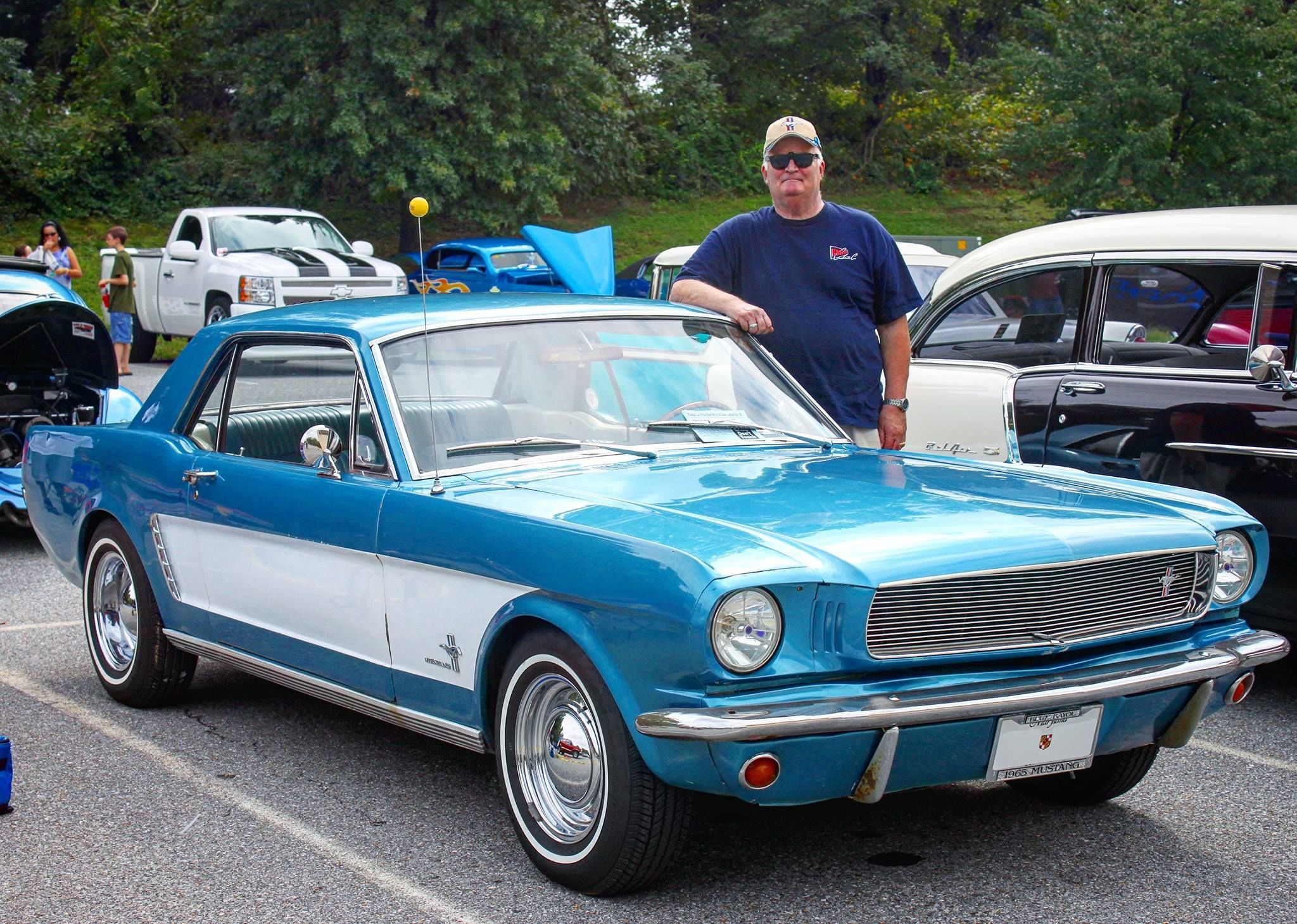 Robert And His 1965 Mustang Coupe