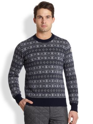 Gant Rugger - Fair-Isle Nordic Snowflake Sweater - Saks.com ...