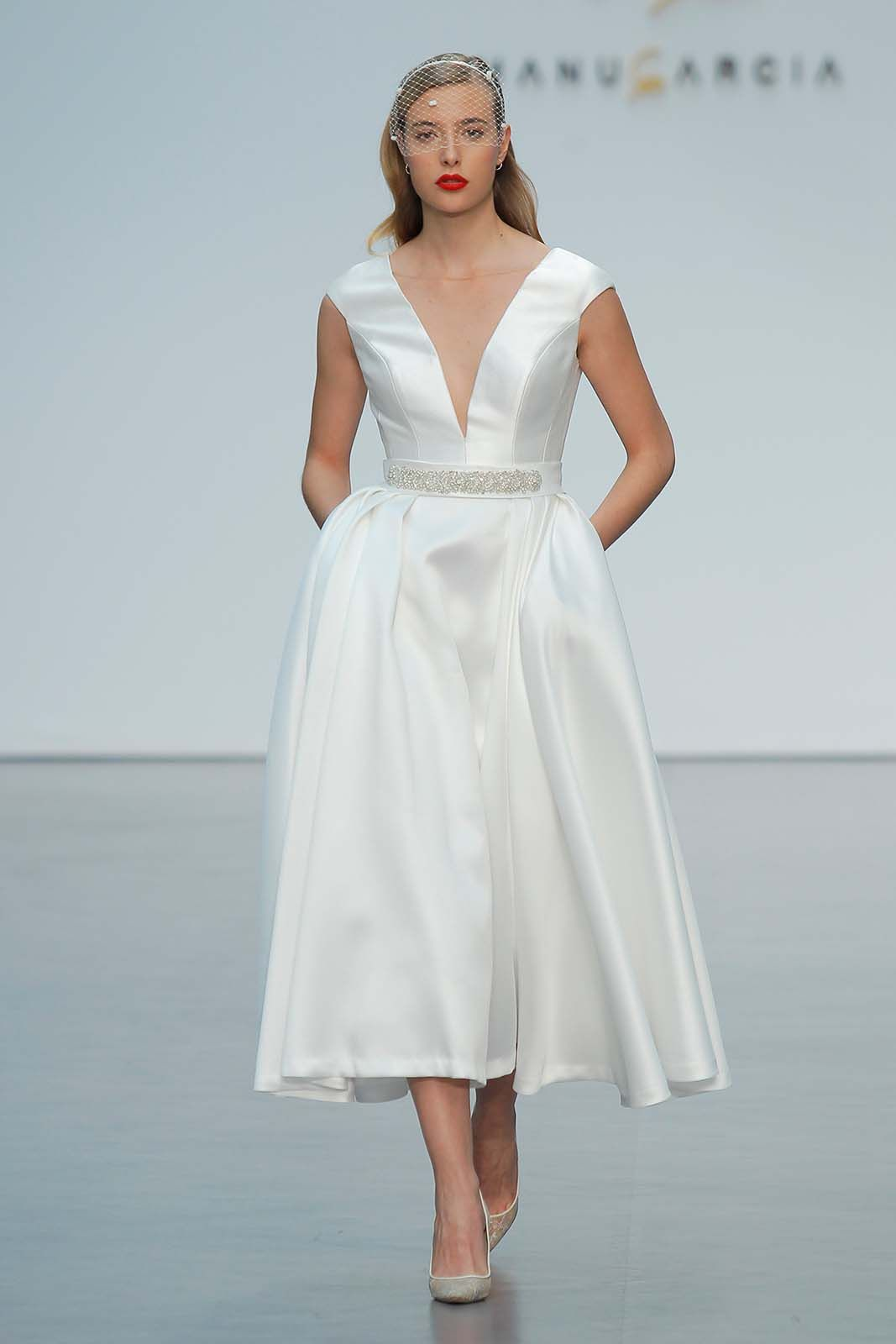 Vestido de Novia de Manu García - 1623900 #wedding #bodas #boda ...
