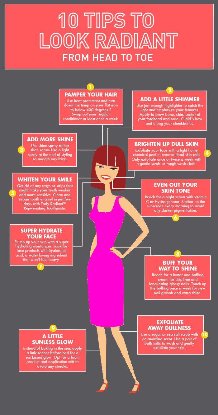10 Tips to look Radiant | Hair makeup academy Jalandhar ...