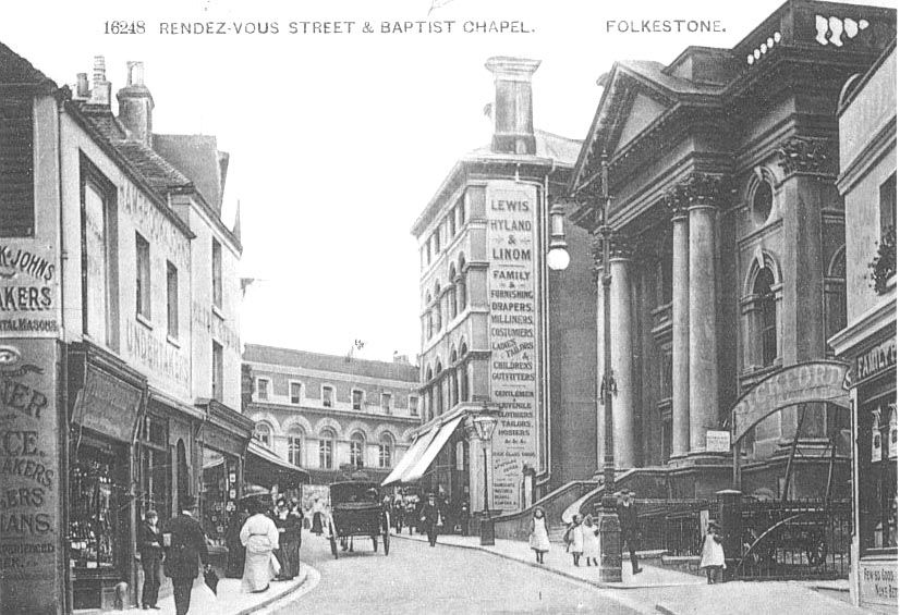 Folkestone Rendez-vous Street and Baptist Church