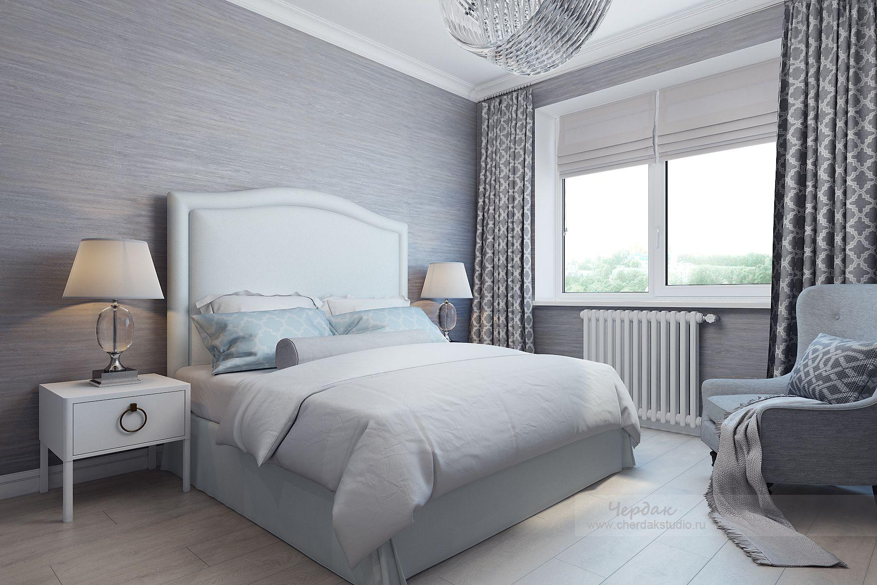интерьер спальни фото в стиле современная классика