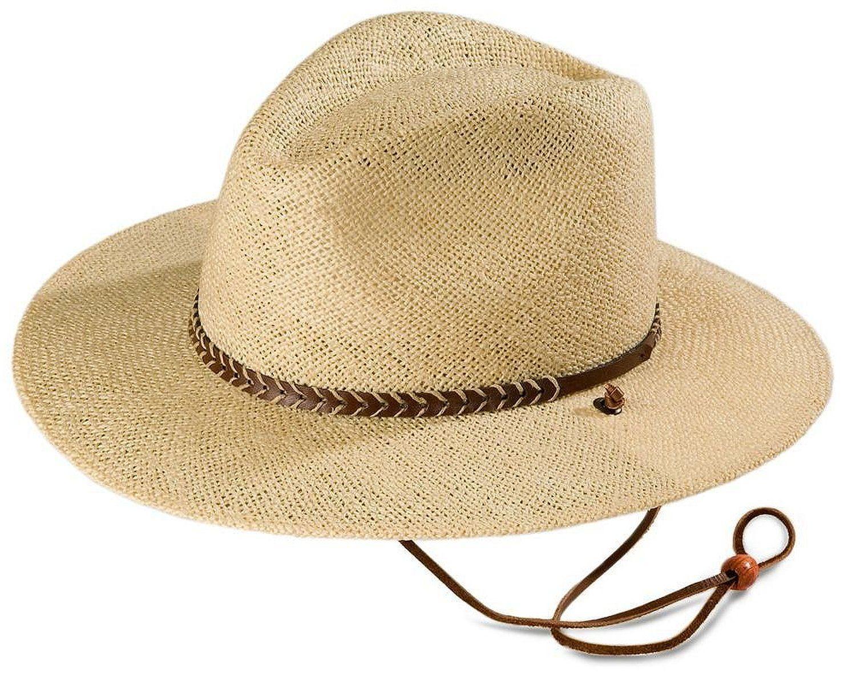 1eba84337f641 Stetson Men s Lakeland Uv Protection Straw Hat at Amazon Men s Clothing  store  Cowboy Hats