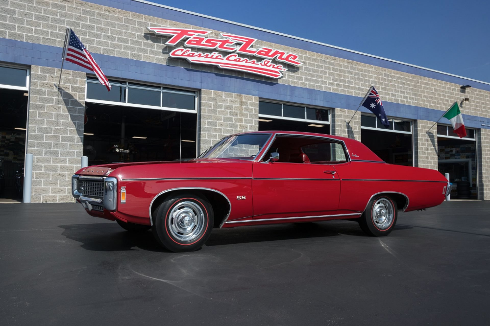 1969 Chevrolet Impala Fast Lane Classic Cars (With