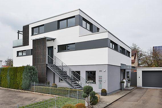 Aufstockung Auf Bestehendes Flachdachhaus Bad Wurzach 3 Praxis