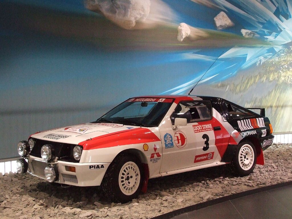 Mitsubishi Starion 4WD rally car | Ideas for car drawings ...