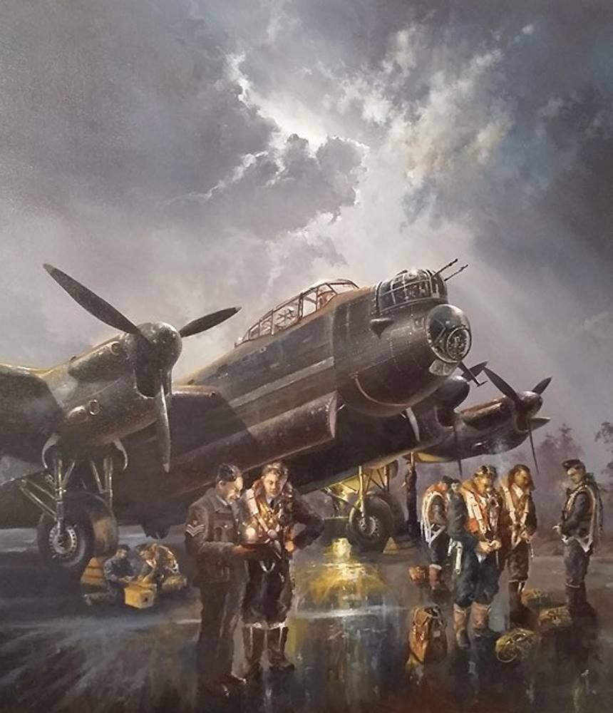 Jeep Lancaster: Ww2 Aircraft, Aircraft Painting, Aviation