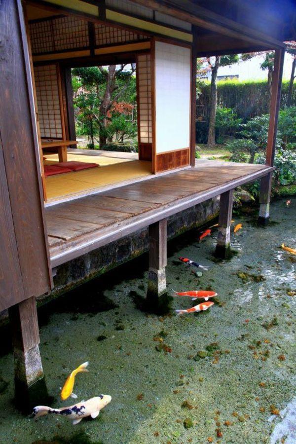 L 39 architecture japonaise en 74 photos magnifiques japon pinterest architecture japonaise - Deco japonaise maison ...