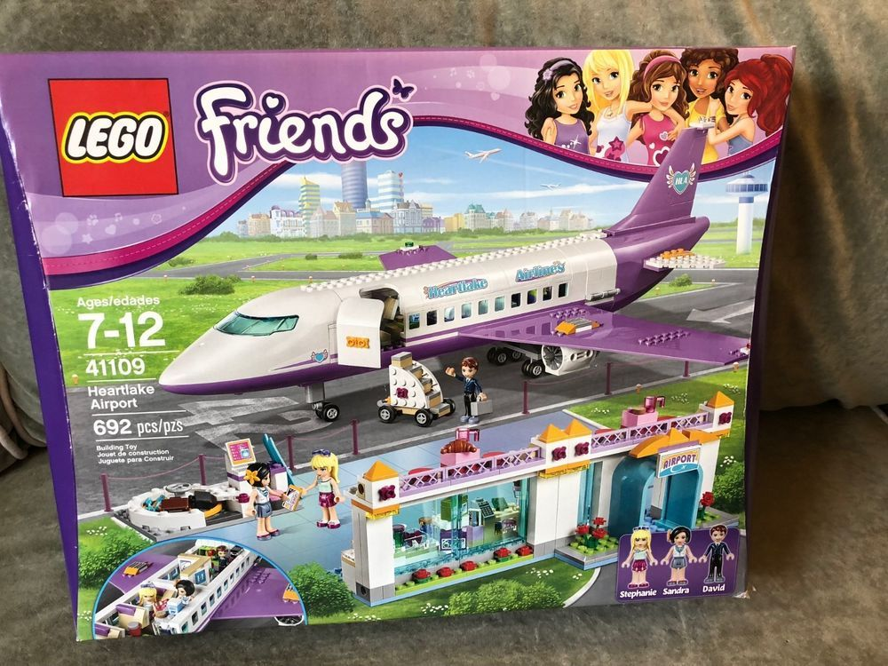 Lego Friends 41109 Heartlake Airport New Sealed Box Retired