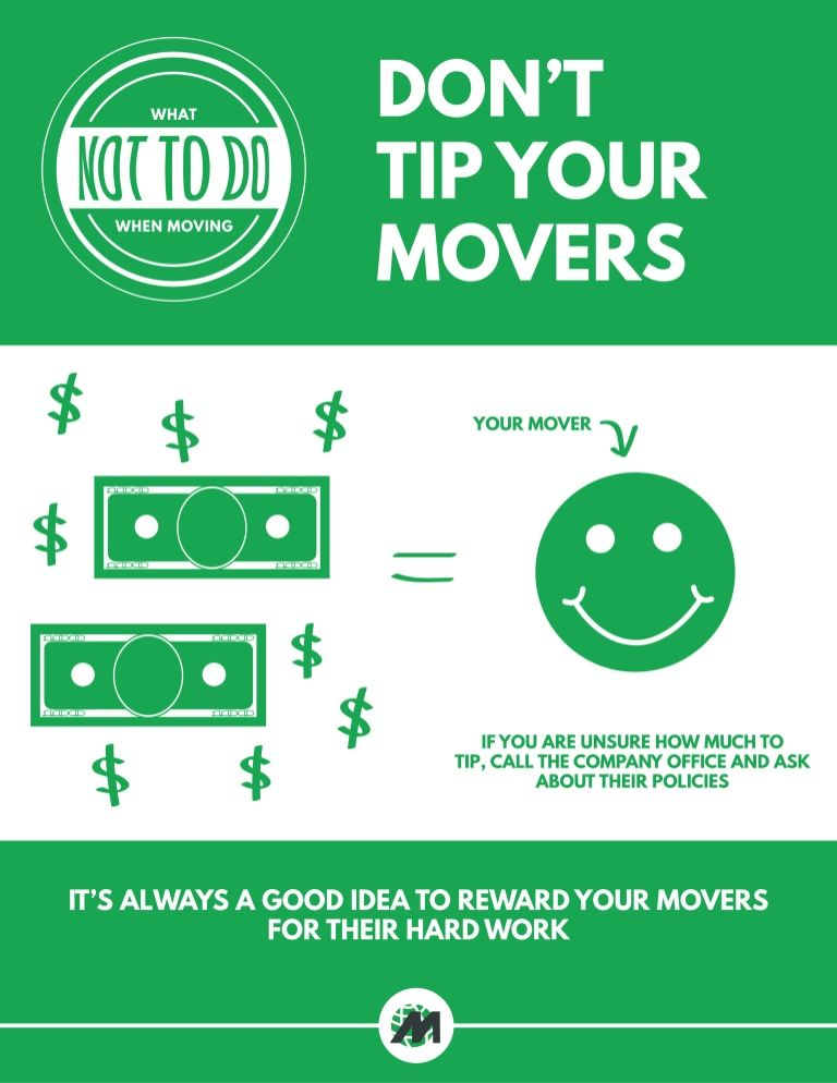 Movers Com Exhibit D You Re Stingy With The Gratuity Unless