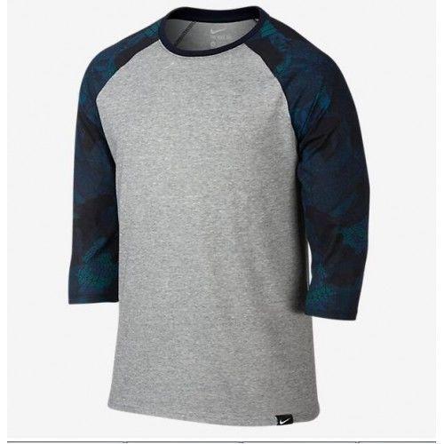 the latest 57367 d508b Men s Nike Dri-Fit Cotton Kobe X Raglan Black Mamba T-Shirt 802671-063 Sz L  New  NIKE  EmbellishedTee