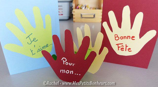 carte fete des peres à fabriquer | fêtes des parents | fête des