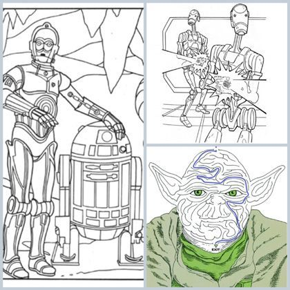 Out of This Galaxy Fun: 6 Star Wars Coloring Pages #starwars | the ...