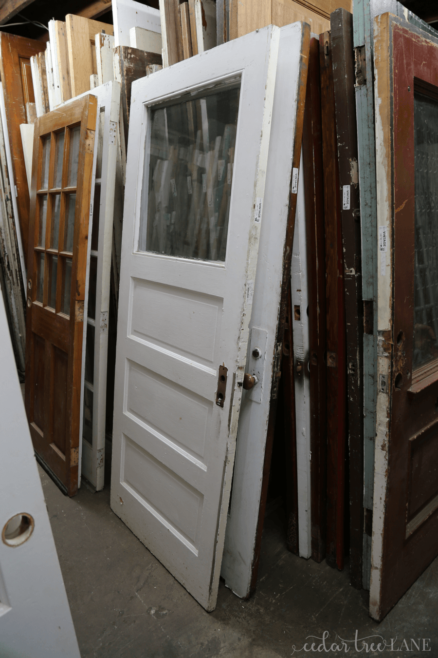Our Hunt For Reclaimed Doors Old Wood Doors Reclaimed Wood Door