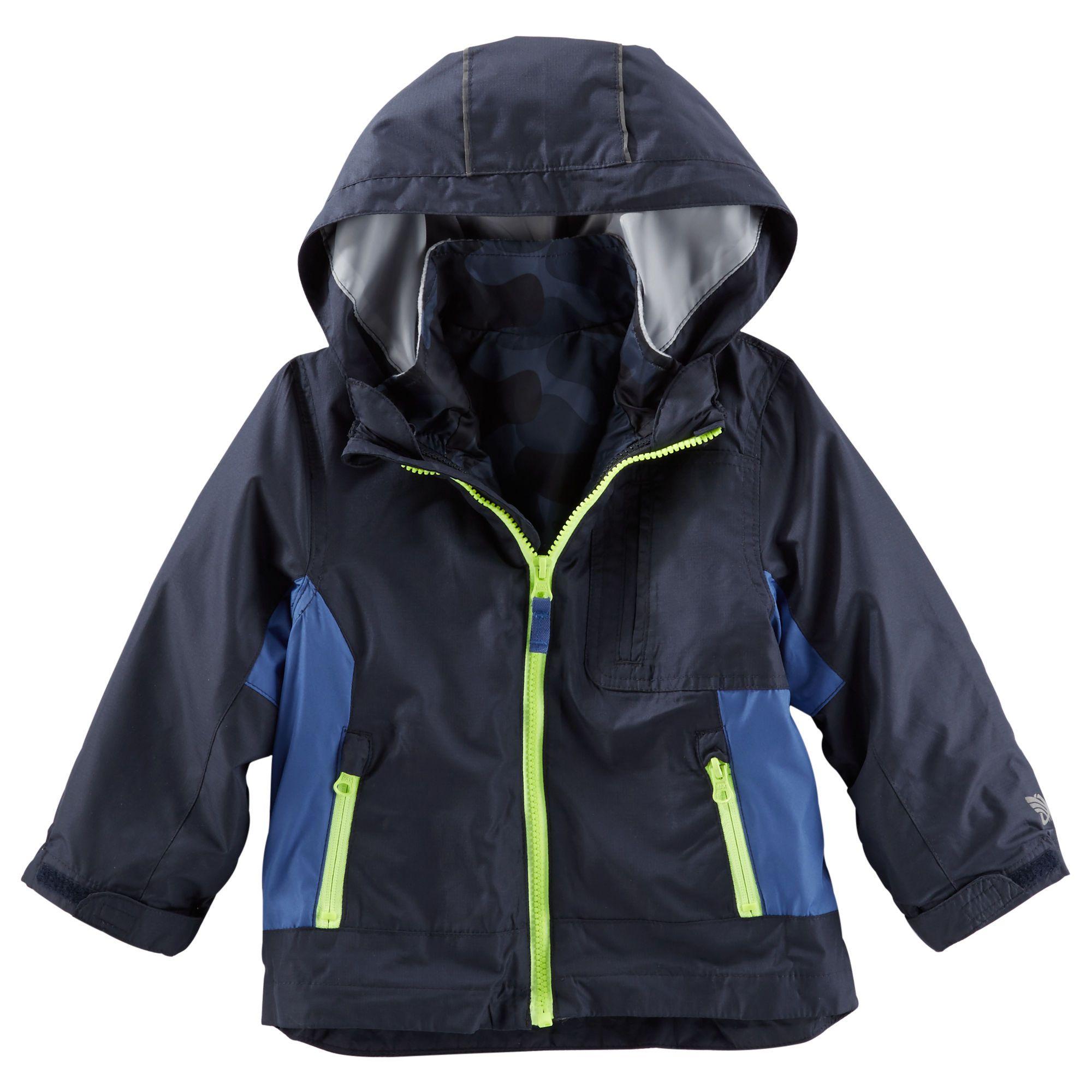 6ebc87952d9a Kid Boy Lightweight OshKosh Colorblock 4-in-1 Jacket