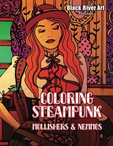 Coloring Steampunk Mollishers Nemmos By Karlon Douglas