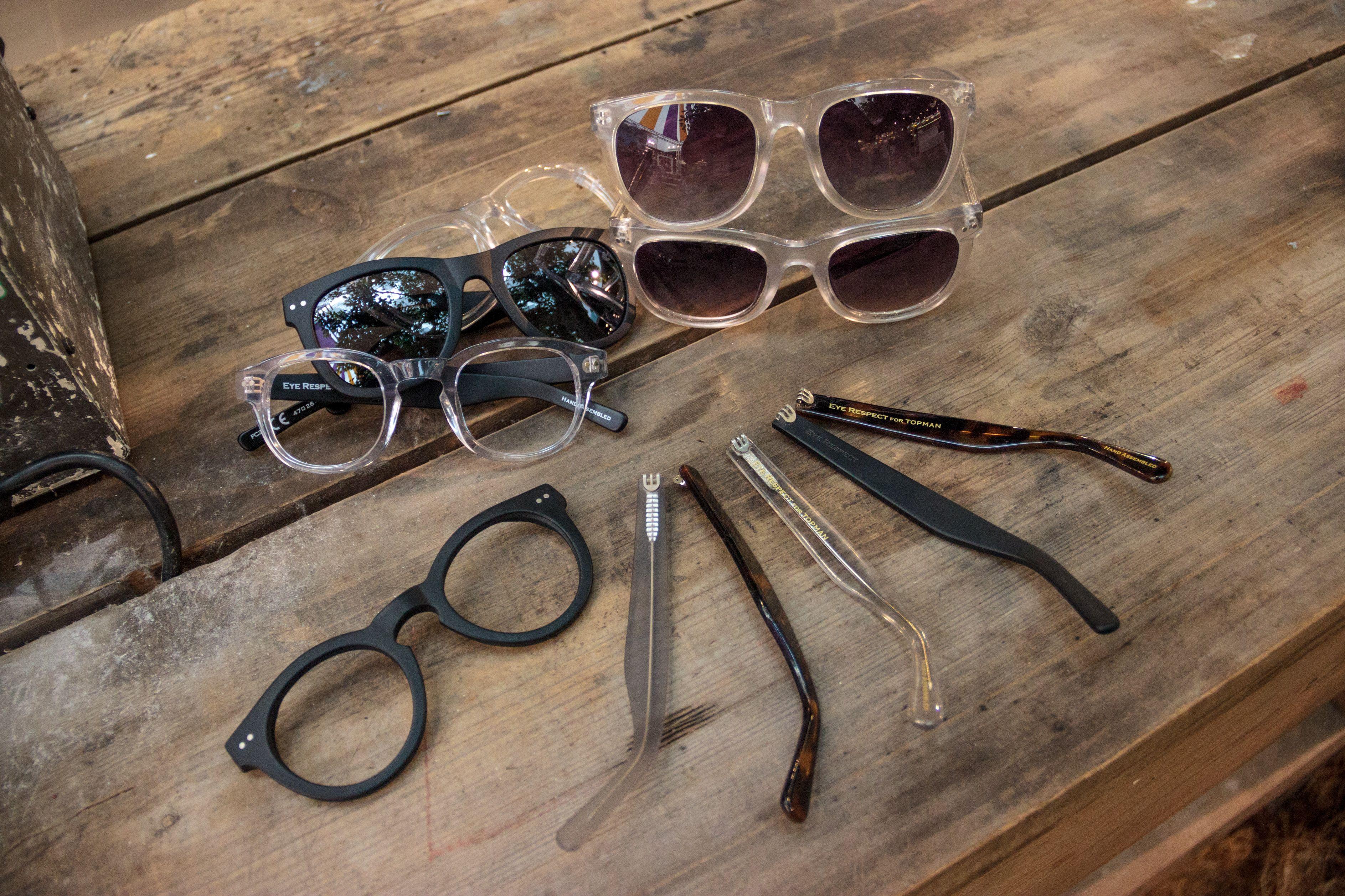 Eye Respect customisable sunglasses workshop at #Festival214 http://tpmn.co/1kN1zIf