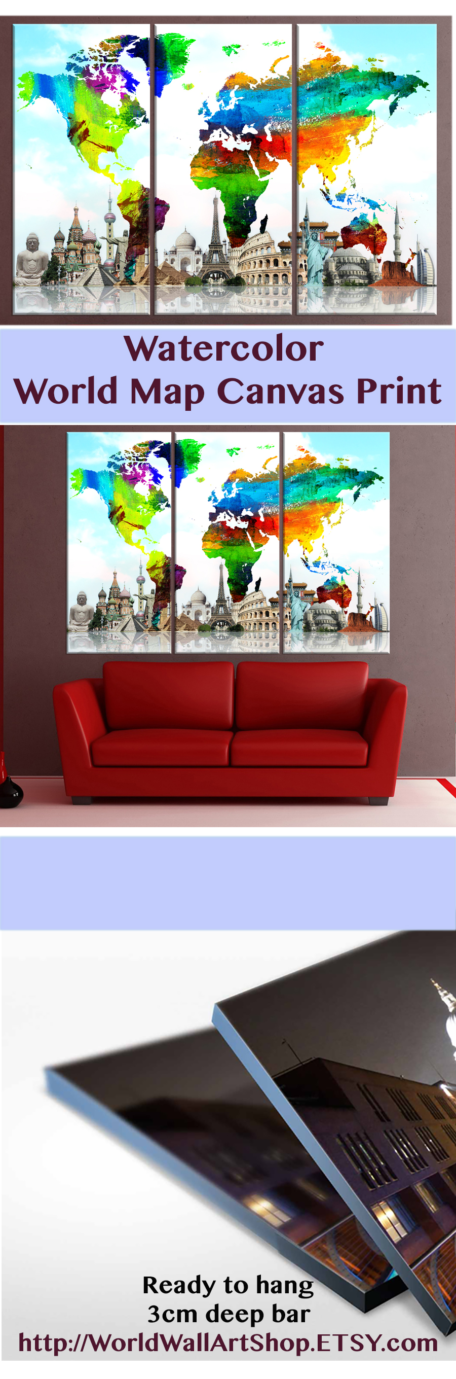 World map wall art watercolor abstract print httpsetsy world map wall art watercolor abstract print httpsetsy gumiabroncs Image collections