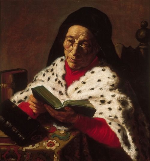 Lievens, Jan - Old Woman Reading