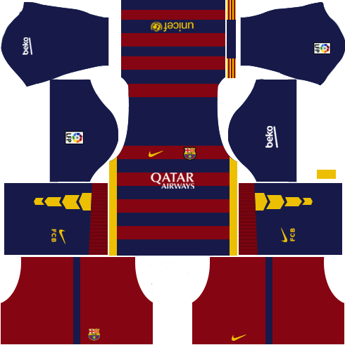 Download and import the dream league soccer kits 2015 of Barcelona football  club. fddb186cd91