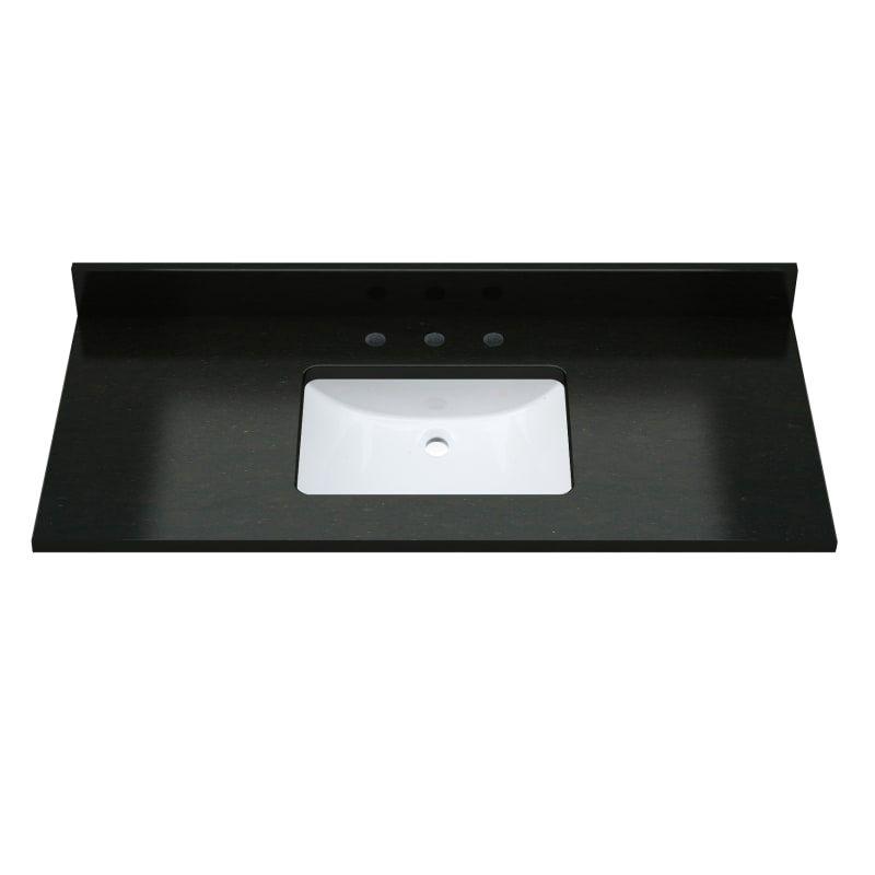 Sagehill Designs Rw4922 49 Marble Vanity Top With Undermount Sink