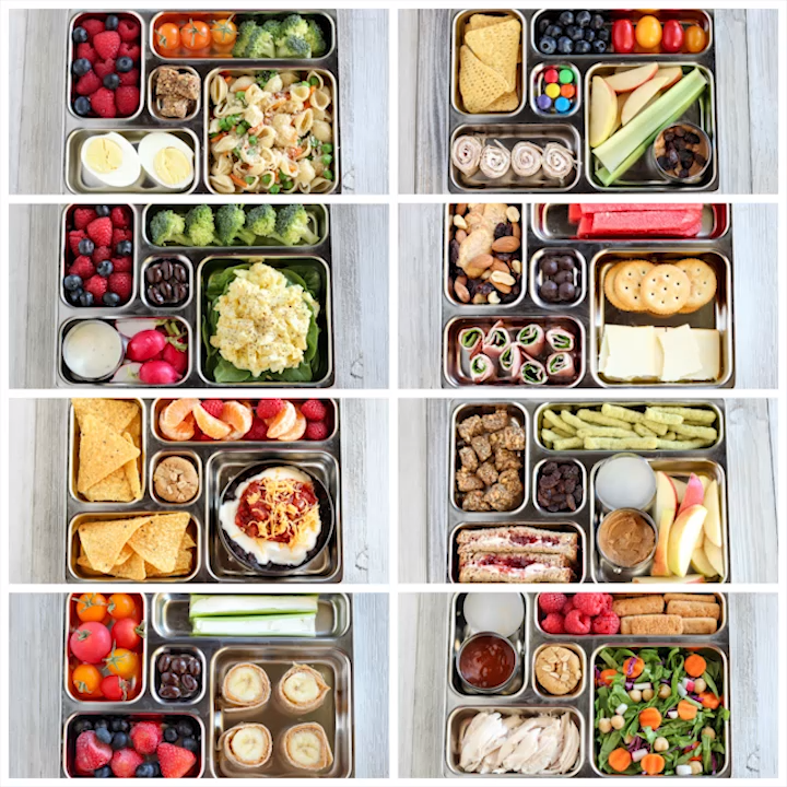 Protein Packed Breakfast Bento Boxes for Clean Eat