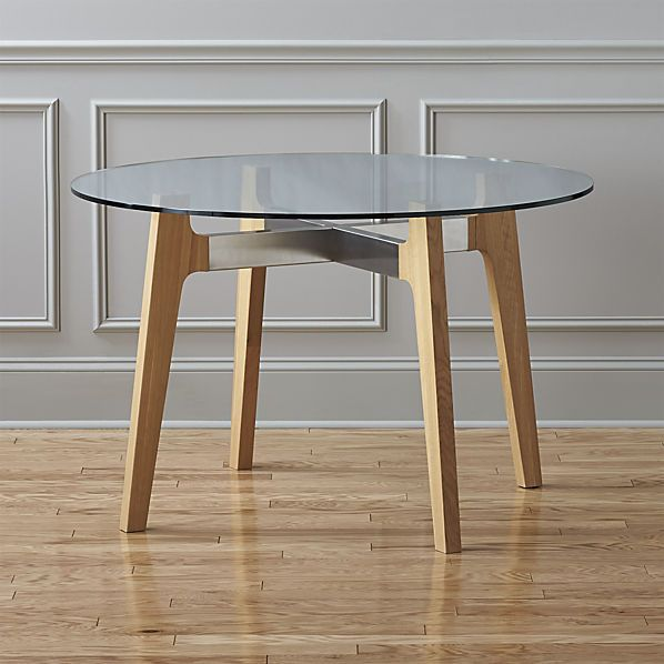 Brace Dining Table Round Dining Table Modern Round Dining Table