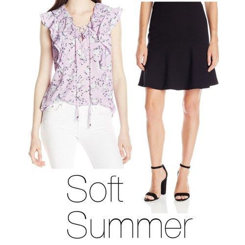How to Wear Black Soft Summer