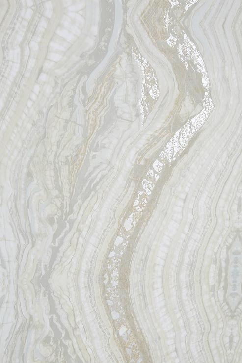 Striation White Geode Inspired Wallpaper Powder Room Wallpaper Glam Wallpaper Wall Paper Phone Wallpaper gold glam behind white