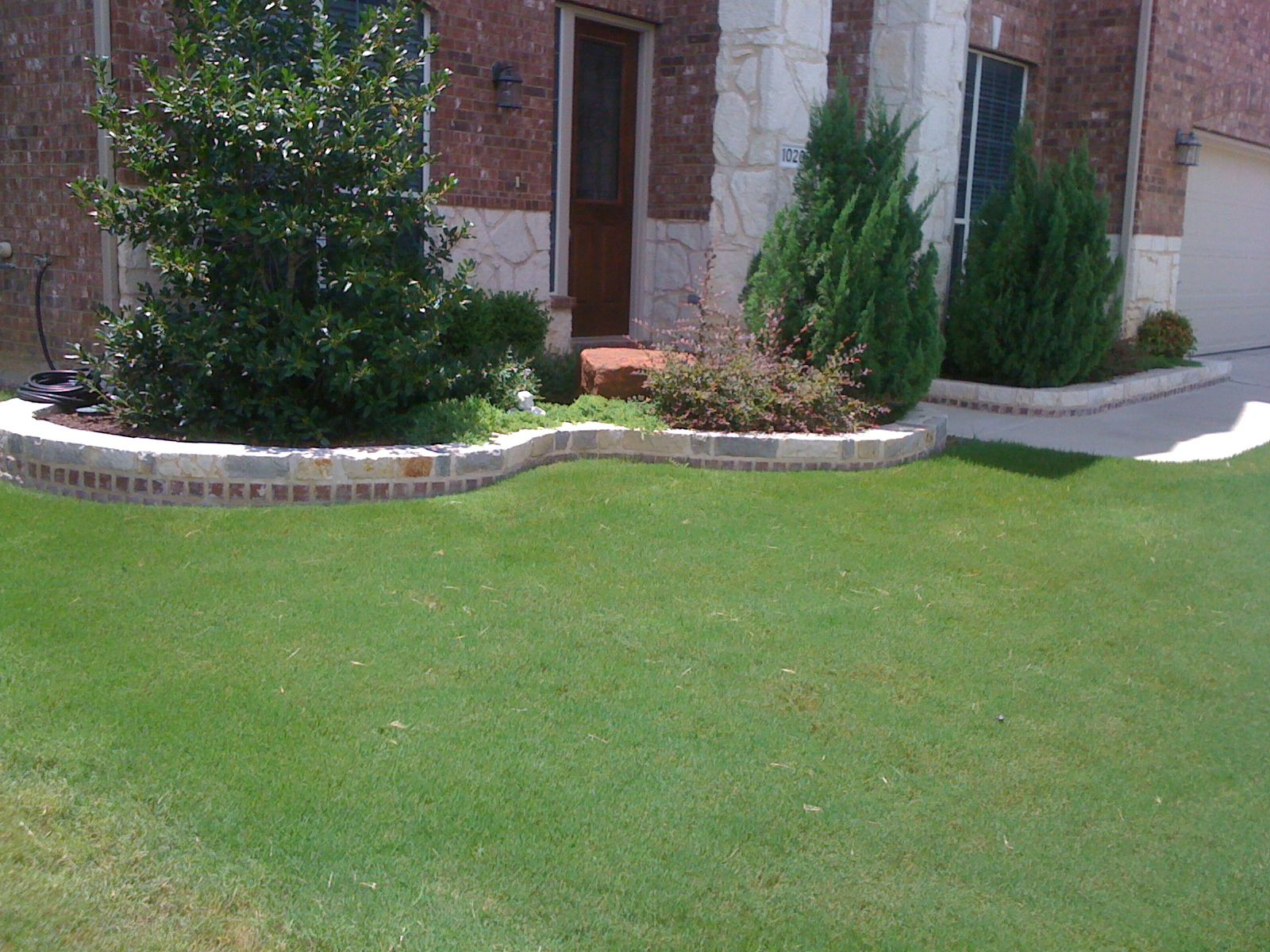 Groundscape a fort worth landscape company installs for Landscaping rocks austin
