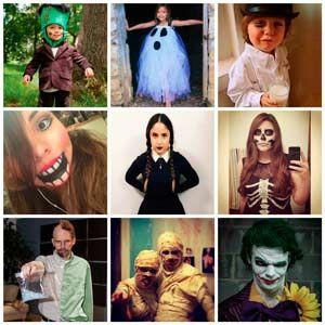 varios disfraces caseros para halloween para nio mujer y hombre