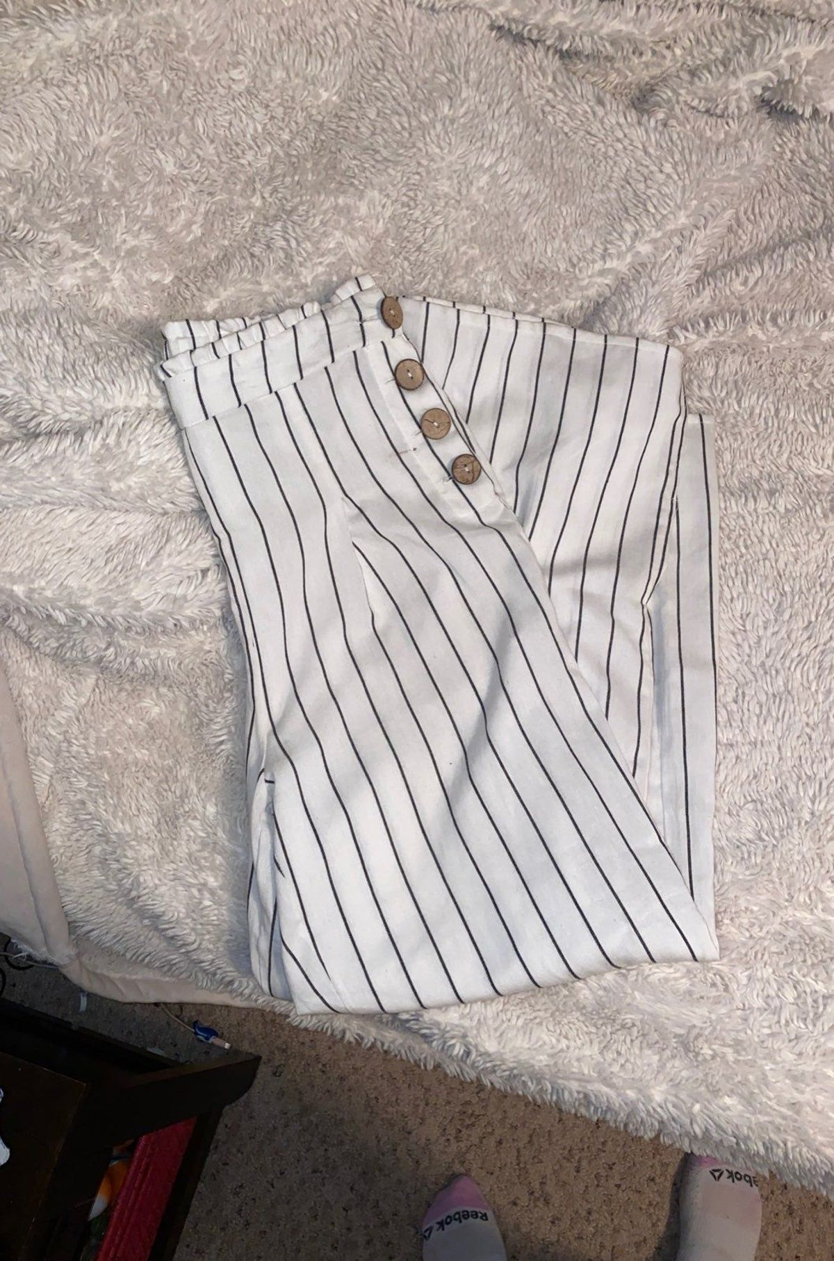 Photo of Flowy Striped Pants